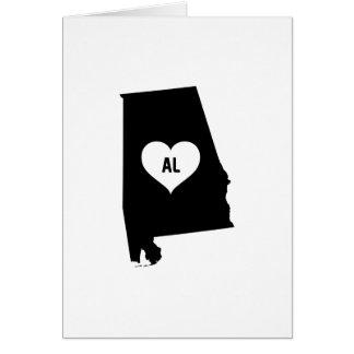 Alabama Love Card