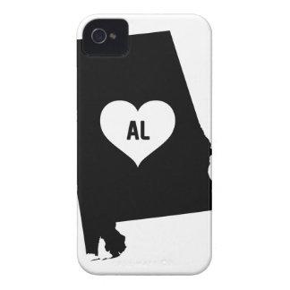 Alabama Love iPhone 4 Cases