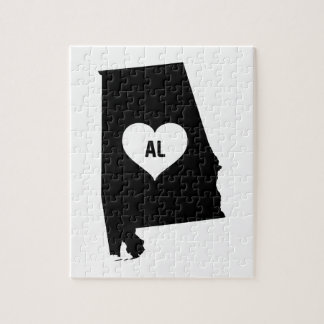 Alabama Love Jigsaw Puzzle