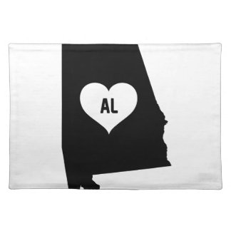 Alabama Love Placemat