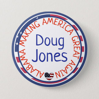 Alabama Making America Great Again Button