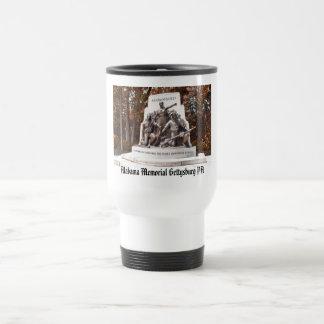 Alabama Memorial Gettysburg PA Mugs