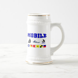 Alabama Mobile 2 18 Oz Beer Stein
