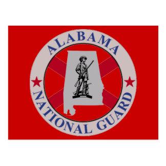 ALABAMA NATIONAL GUARD POSTCARD