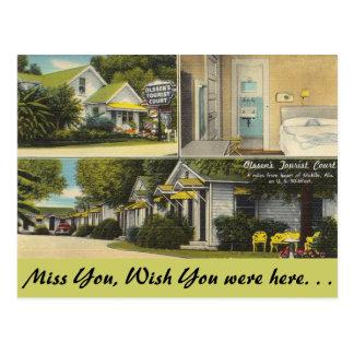 Alabama, Olssen's Tourist Court Postcards