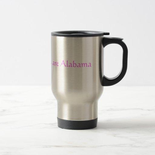 Alabama Pink Mugs