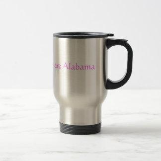 Alabama Pink Stainless Steel Travel Mug