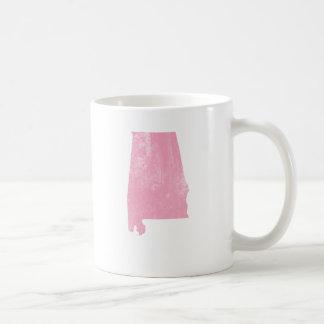 Alabama - Pink Vintage Grunge Coffee Mug