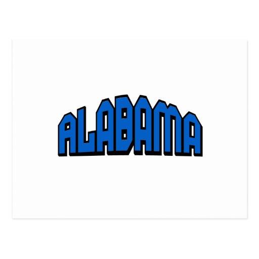 Alabama Postcards