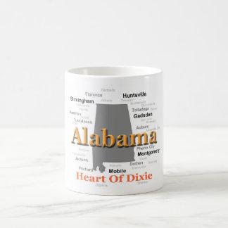 Alabama Pride Map Coffee Mug
