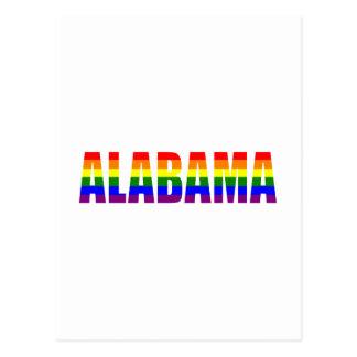 Alabama Pride Postcard