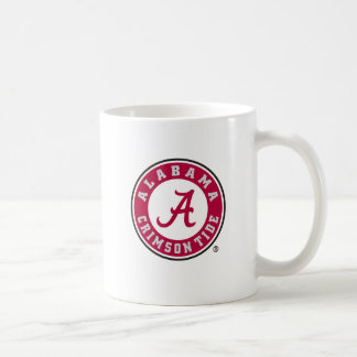 Alabama Primary Mark - Red Classic White Coffee Mug