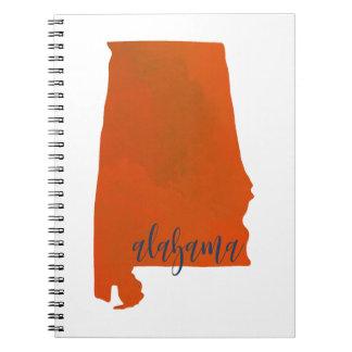 Alabama print notebook