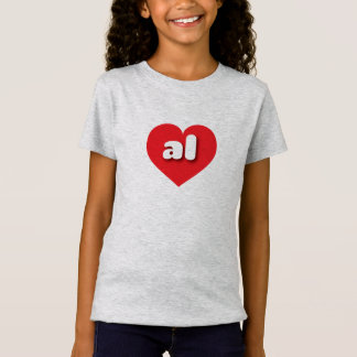 Alabama red heart - mini love T-Shirt