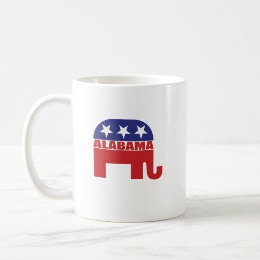 Alabama Republican Elephant Mug