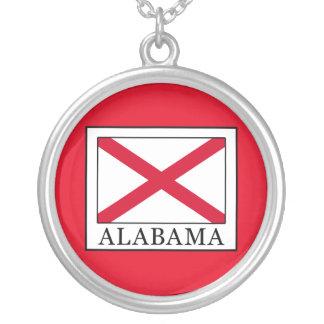 Alabama Round Pendant Necklace