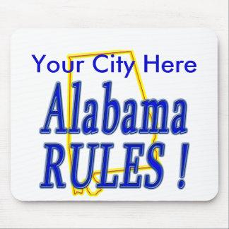 Alabama Rules ! Mouse Pad