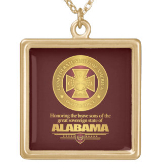 Alabama SCH Gold Plated Necklace
