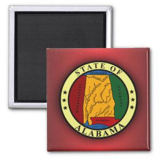 Alabama Seal Fridge Magnet