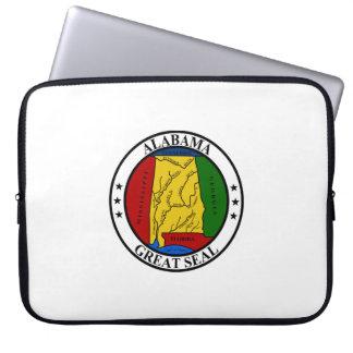 Alabama seal united states america flag symbol rep laptop sleeve