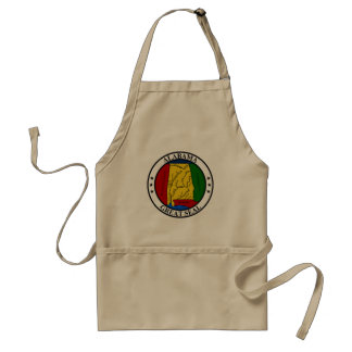 Alabama seal united states america flag symbol rep standard apron