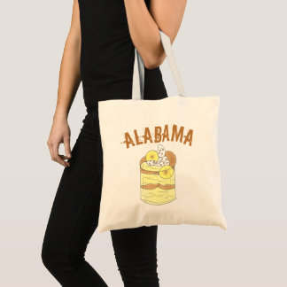 Alabama Southern Banana Pudding Dessert Foodie AL Tote Bag