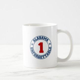 Alabama State Basic White Mug