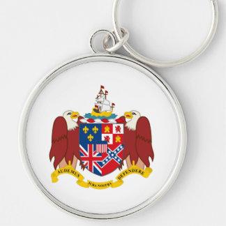 Alabama state coat of arms seal america republic s key ring