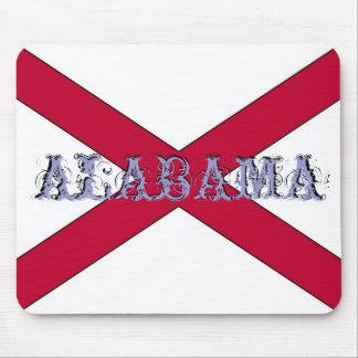 Alabama State Flag Mousepad