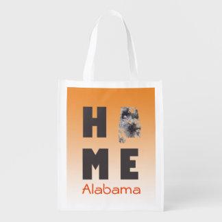 ALABAMA STATE MAP - Reuseable Bag