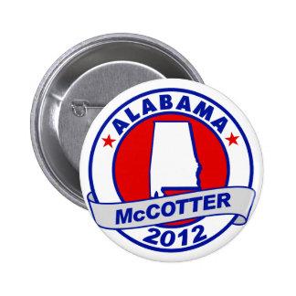 Alabama Thad McCotter 6 Cm Round Badge