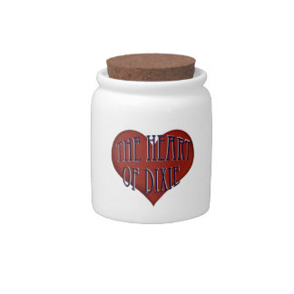 Alabama The Heart Of Dixie Candy Jar