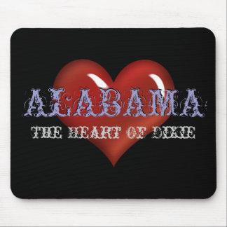 Alabama The Heart Of Dixie Mousepad