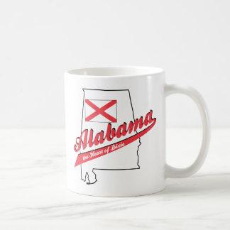 Alabama - The Heart of Dixie Basic White Mug