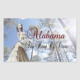 Alabama The Heart Of Dixie Sticker