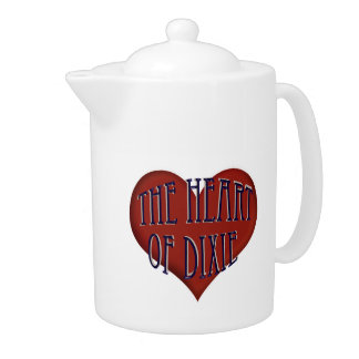 Alabama The Heart Of Dixie Teapot