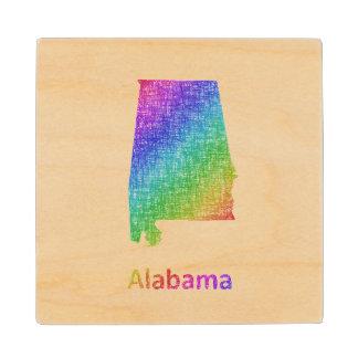 Alabama Wood Coaster