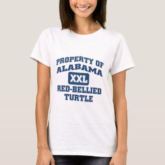 Alabama XXL  Red-Bellied Turtle T-Shirt