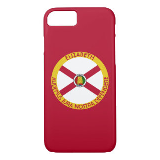 Alabama Yellowhammer State Personalized Flag iPhone 7 Case