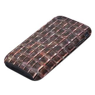 Alabaster Tile #1c iPhone 3 Tough Case