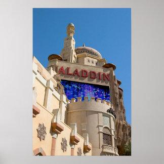 Aladdin Casino Las Vegas Poster