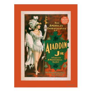 Aladdin Jr. Tale of a Wonderful Lamp Theatre 2 Postcard