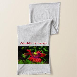 Aladdin's Lamp Flag Poppy Scarf
