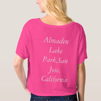 Alamden Lake Park, San Jose, California, United St T-Shirt