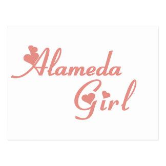 Alameda Girl tee shirts Postcard