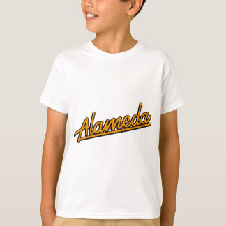 Alameda in orange T-Shirt