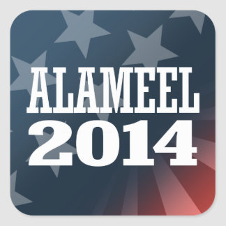 ALAMEEL 2014 SQUARE STICKER