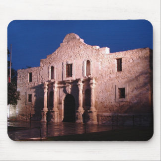 Alamo at Night Mouse Pad