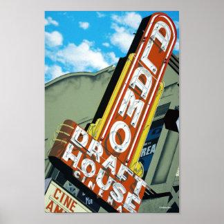 Alamo Draft House Austin Texas Poster