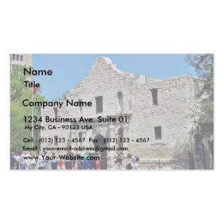 Alamo San Antonio Forts Texas Business Cards